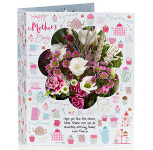 Mother's Day Flowercard
