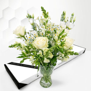 Elegant Avalanche - Letterbox Flowers - Letterbox Flowers UK - Send Letterbox Flowers - Cheap Letterbox Flowers